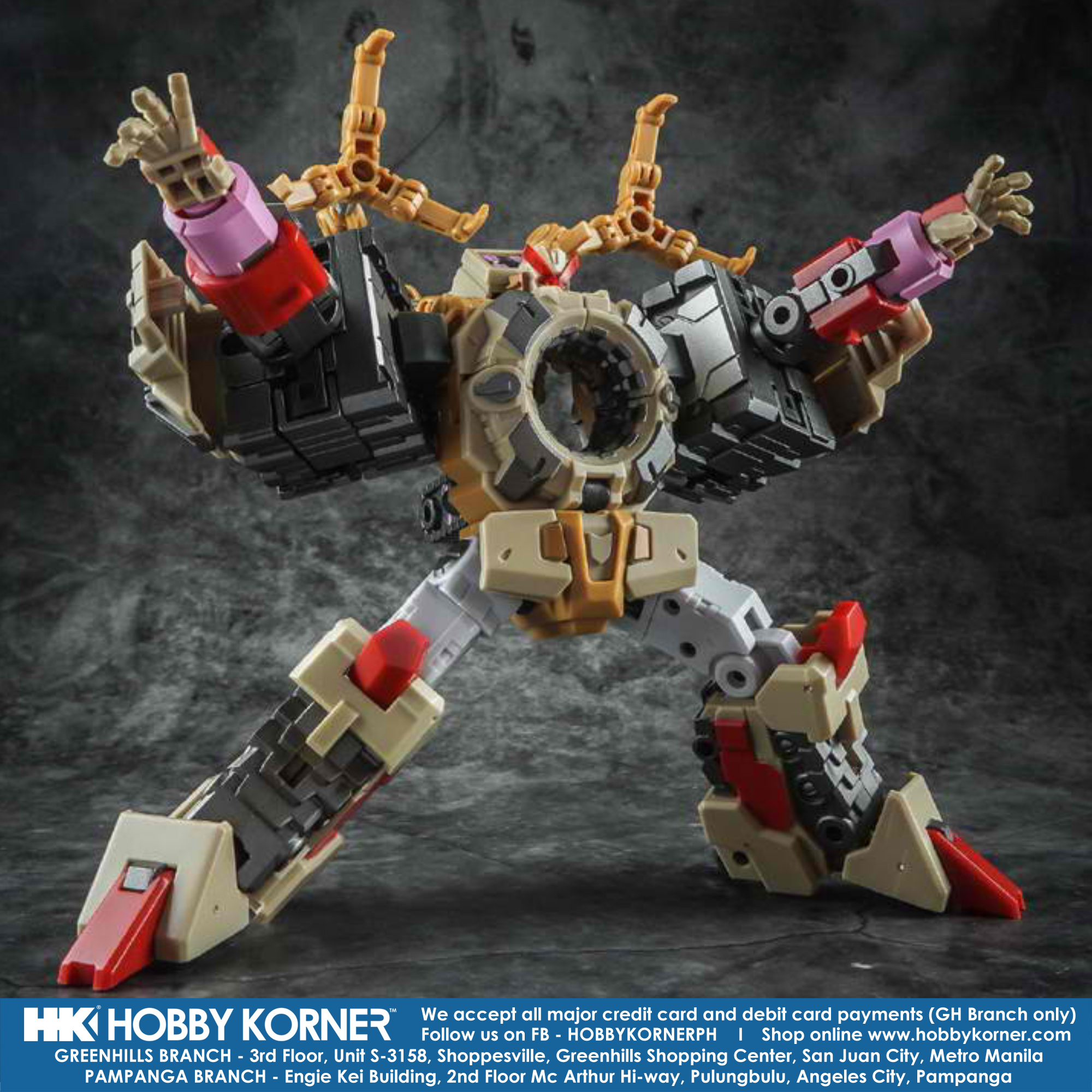 Pre-order Transformers IronFactory IF EX-35 Spirits of The D.E.C Merak mini toy