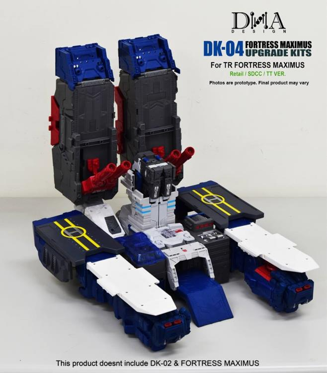Transformers toy DNA Design DK-04 Fortress Maximus Foot Upgrade Kit,In stock