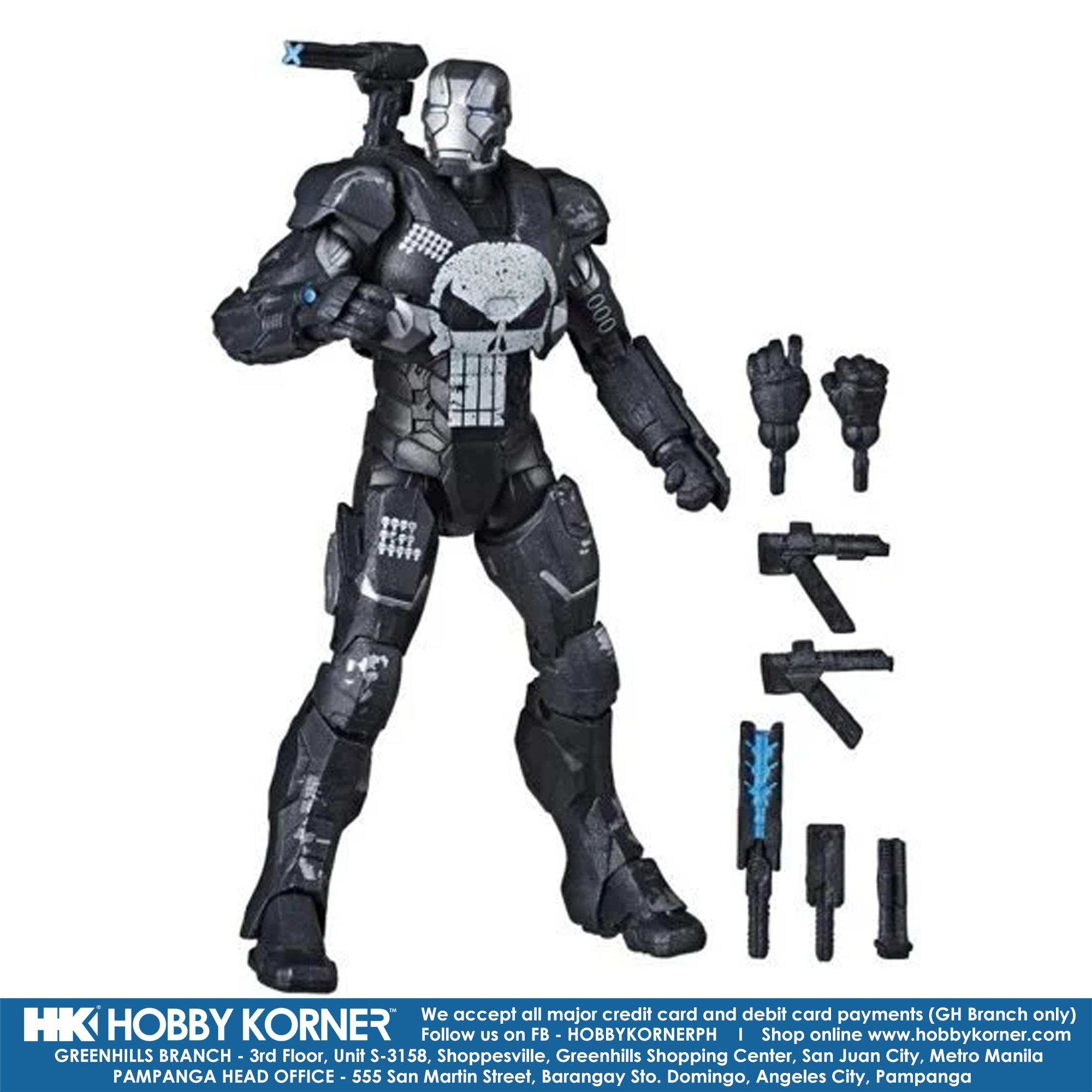 Hasbro Marvel Legends WAR MACHINE Deluxe Figure IN HAND 6 Inch