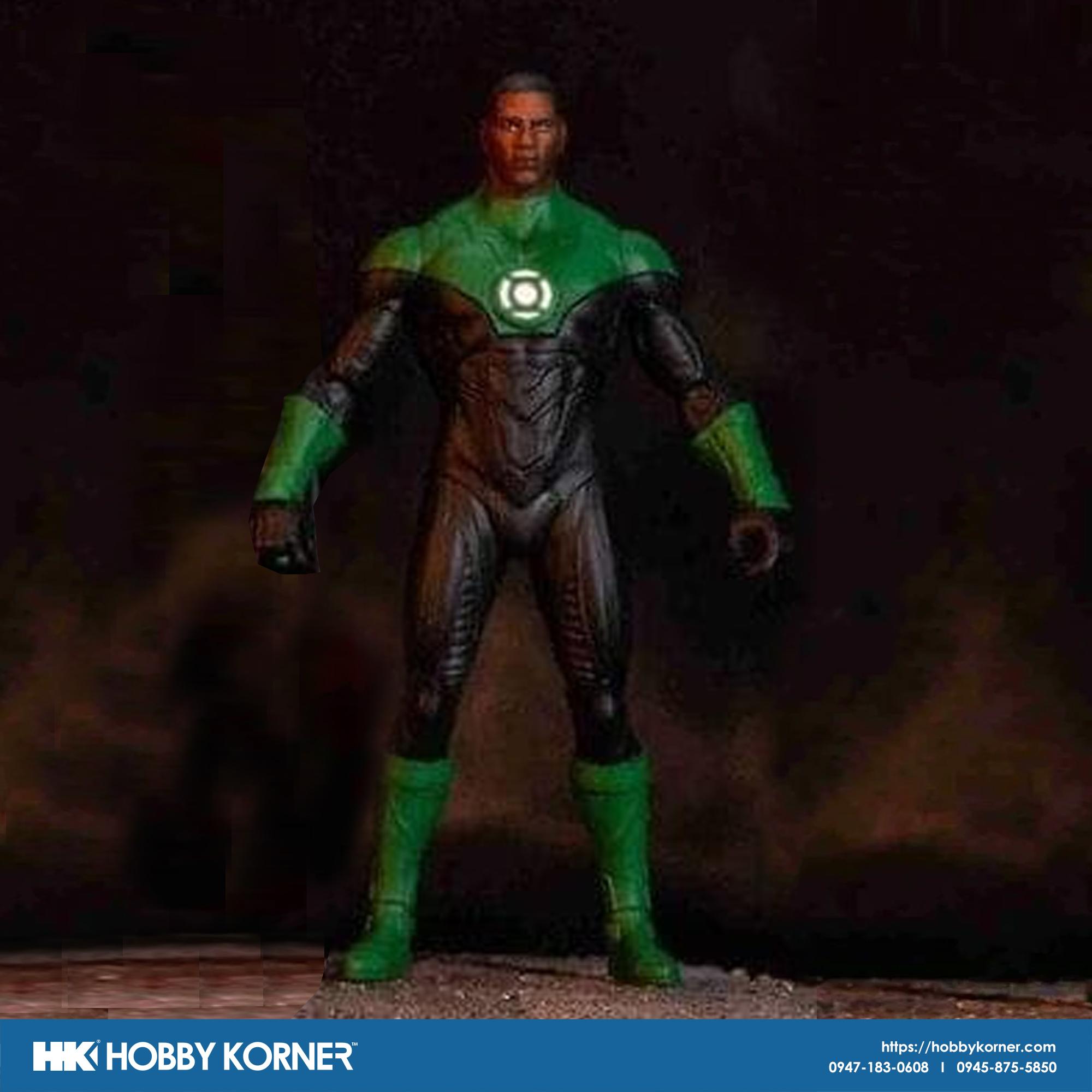 Pre Order Mcfarlane Toys 7 Scale Dc Green Lantern John Stewart Hobby Korner